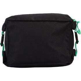 speedo Pool Side Bag, black/green glow